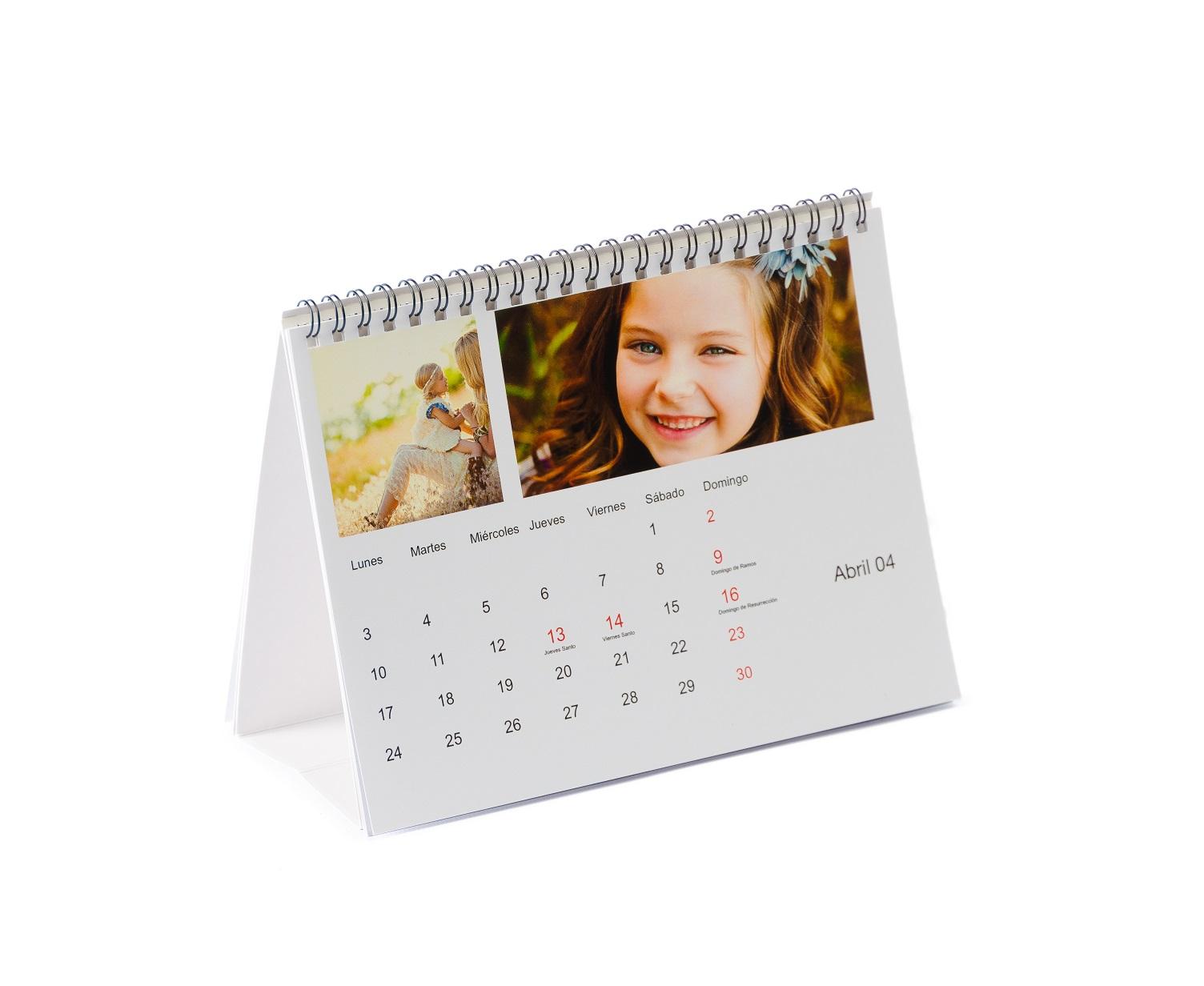 Calendario Mesa 20x15cm