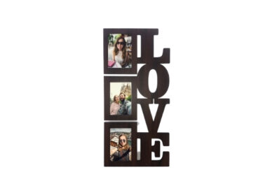 Marco Madera Love 3 Fotos 10x15cm
