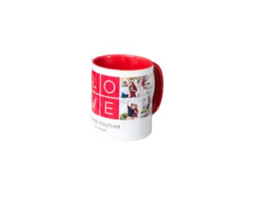 Mug Color Interno Rojo A&M